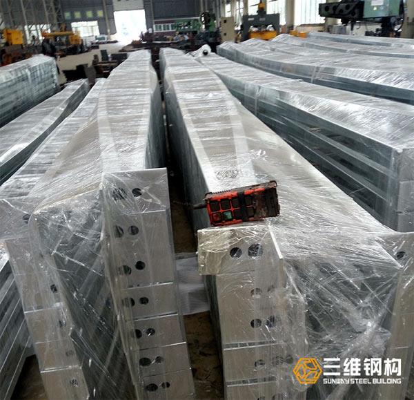 海外钢结构管道桁架加工案例图1