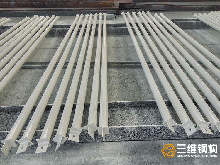 海外钢结构管道桁架加工图3