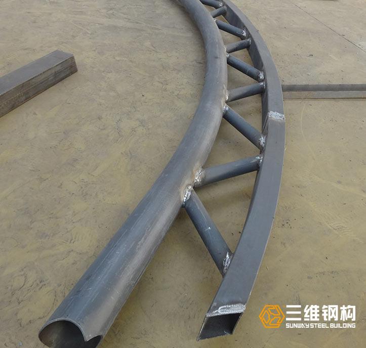 海外钢结构管道桁架加工4