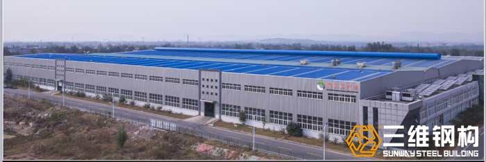 山东亿和橡胶轻钢结构厂房