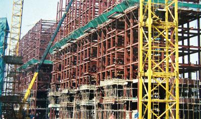 济南伟东新都钢结构高层住宅楼