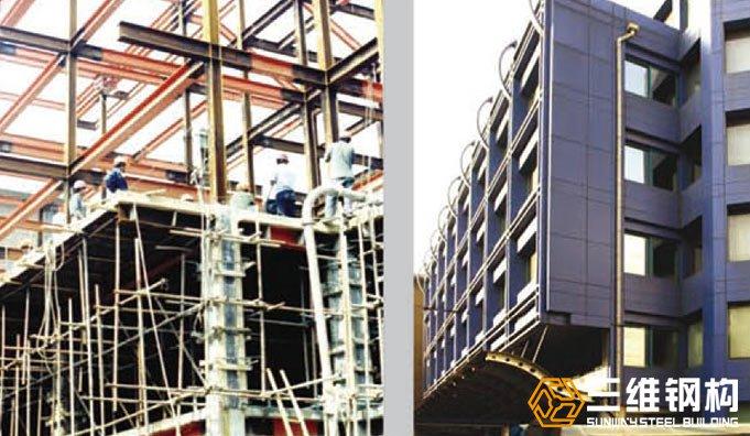 省建设厅钢结构多高层办公楼工程
