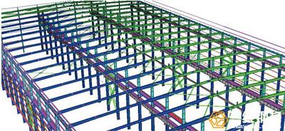 济宁福林汽车钢结构设计工程
