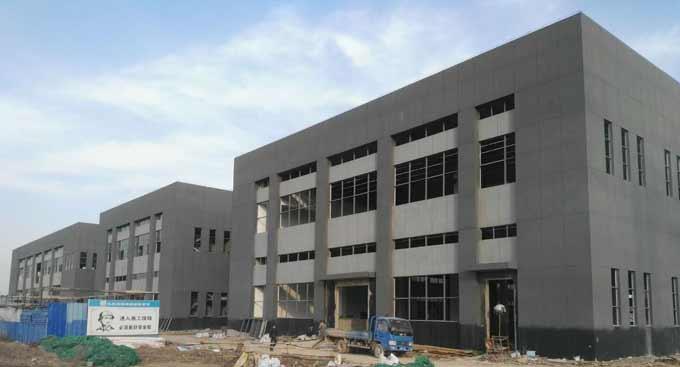 蚌埠天成包装钢结构厂房工程