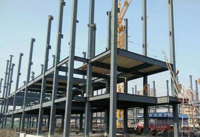上海舜元科创园钢结构工程