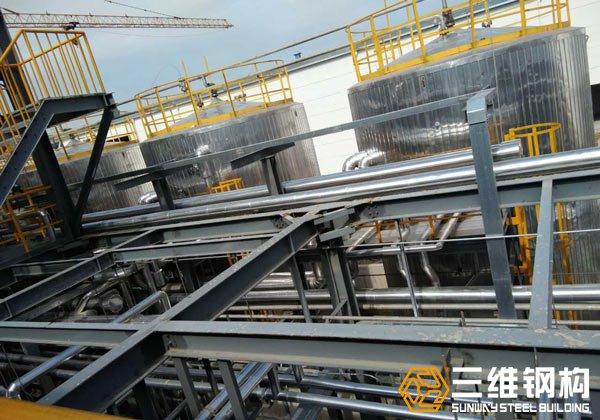 行业钢结构平台加工