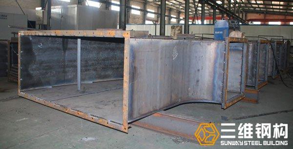巴西干法选煤风选系统非标异形钢构件加工图4