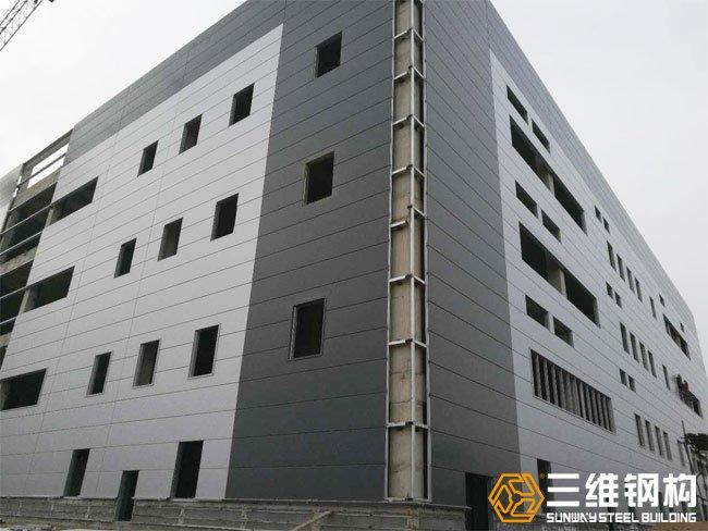 钢结构厂房节点施工
